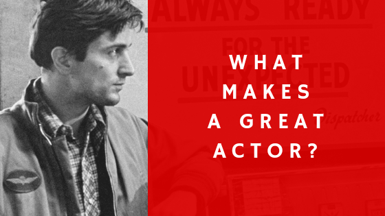 what make a great actor