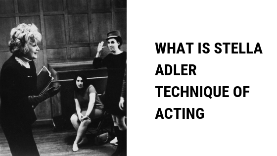 stella adler technique